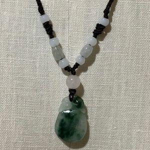 Womens jade rabbit necklace on poshmark nwotchinese good luck rabbit jade necklace aloadofball Images